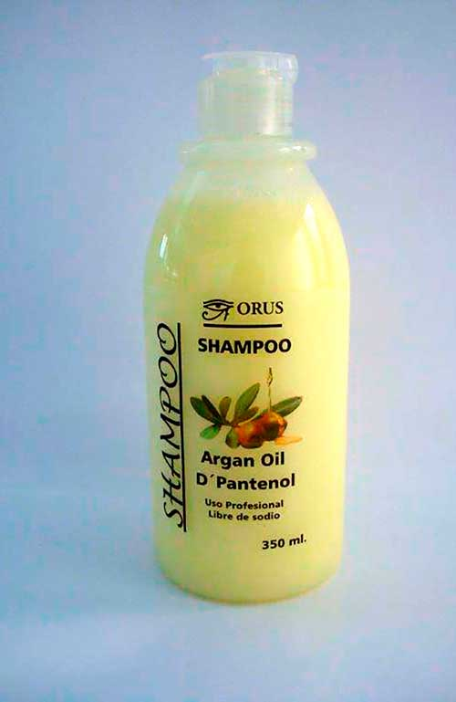 Etiqueta Shampoo